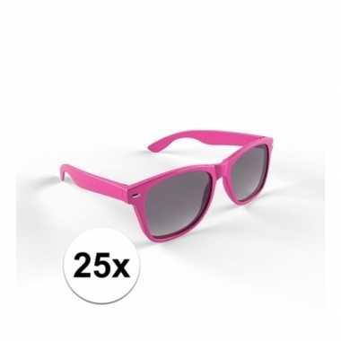 25x trendy zonnebrillen roze voor volwassenen