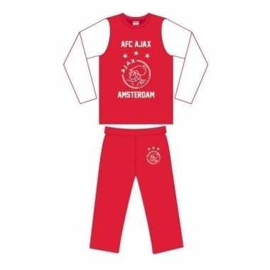 Ajax pyjama broek en shirt voor jongens