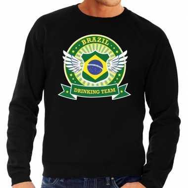 Brazil drinking team sweater zwart heren