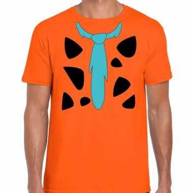 Fred lookalike holbewoner t-shirt voor heren