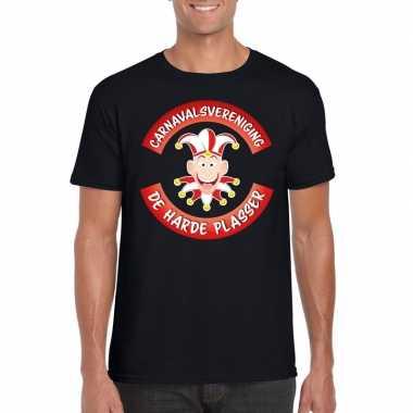 Fun t-shirt brabantse carnavalsvereniging zwart voor heren