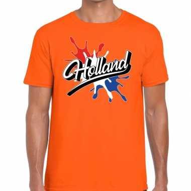 Holland supporter kleding oranje voor heren