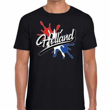 Holland supporter kleding zwart voor heren