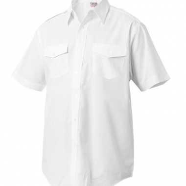 Kapitiens overhemd korte mouwen