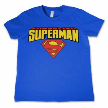 Marchandise superman shirt kinderen