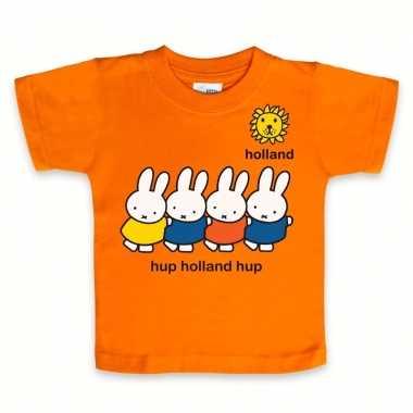 Nijntje baby t-shirt oranje