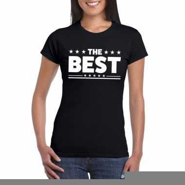 The best fun t-shirt voor dames zwart