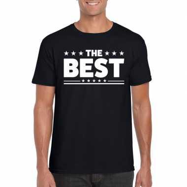 The best fun t-shirt voor heren zwart