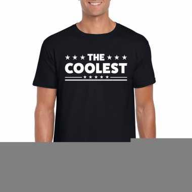 The coolest fun t-shirt voor heren zwart