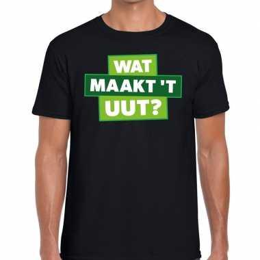Wat maakt t uut zwarte cross t-shirt zwart voor heren