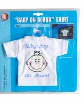 Baby on board t shirt boy