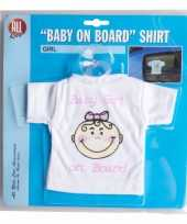 Baby on board t shirt girl