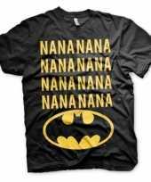 Batman t shirt zwart voor heren