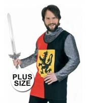 Big size ridder shirt voor mannen