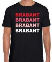 Brabant provincie shirt zwart voor heren