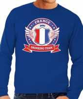 France drinking team sweater blauw heren