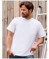 Grote maat heren t-shirts maat 4xl wit