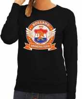 Holland drinking team sweater zwart dames