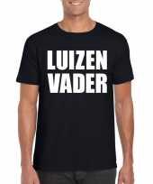 Luizenvader fun t-shirt zwart voor heren