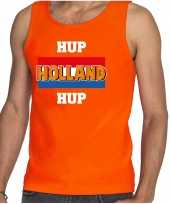Oranje fan tanktop kleding holland hup holland hup ek wk voor heren