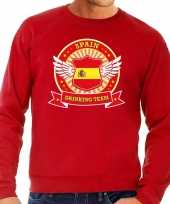 Spain drinking team sweater rood heren
