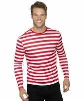 Waar is wally t-shirt lange mouw voor volwassenen